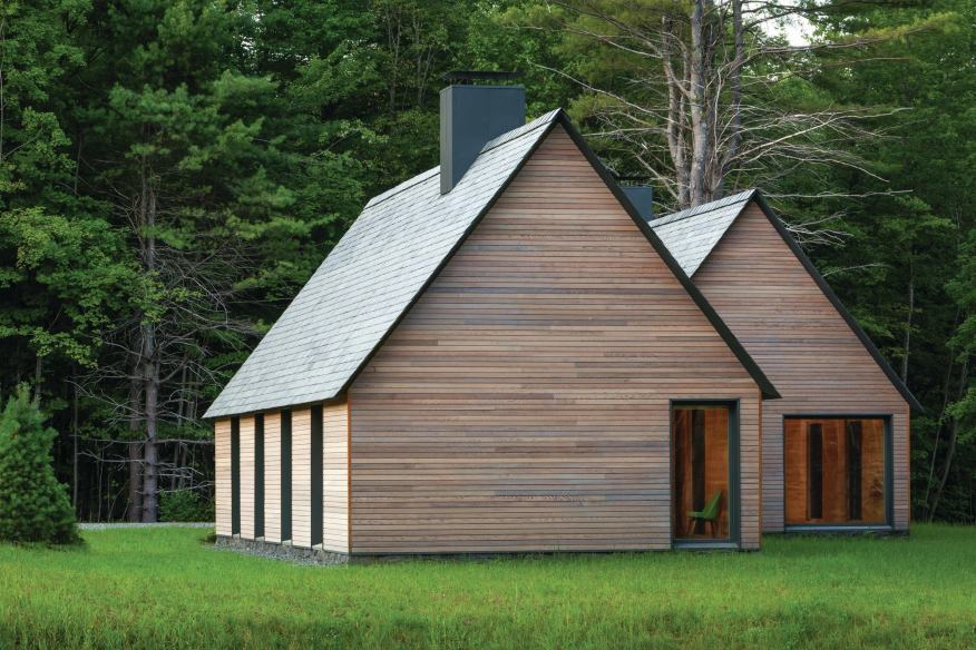 Designed by HGA Architects and Engineers, Marlboro Music: Five Cottages in Marlboro, Vt., won a 2015 AIA Housing Award.