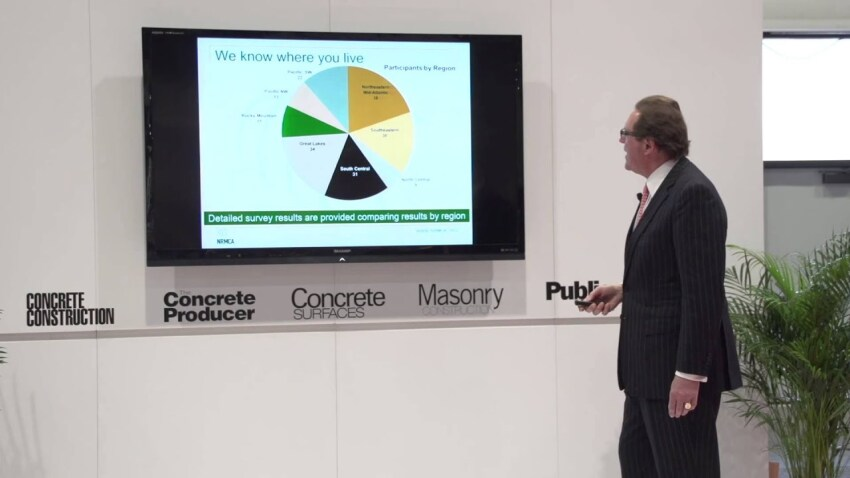 2016 CC Live: NRMCA Industry Data Survey with Pierre Villere, Part II