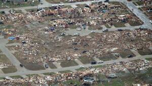 Moore, Oklahoma after category 5 toranado in 2013.