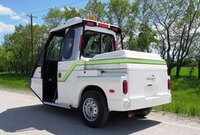 Compact gas or electric utility vehicle
