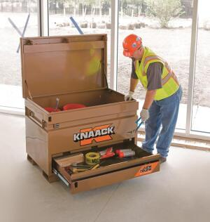 Knaack Jobsite Chest with Junk Trunk | Tools of the Trade ...