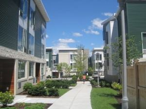 Lincoln Way, 70 affordable rental units by the Cambridge Housing Authority, will be required to report energy and water usage data as part of the city's new energy benchmarking ordinance.