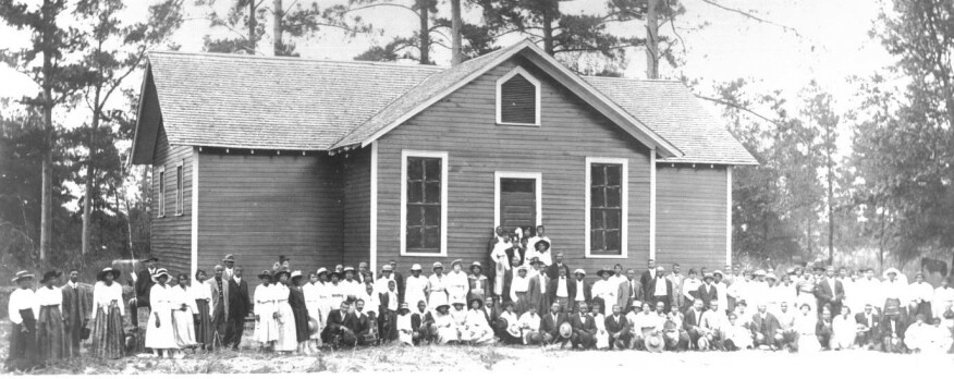 A Rosenwald school in Alabama