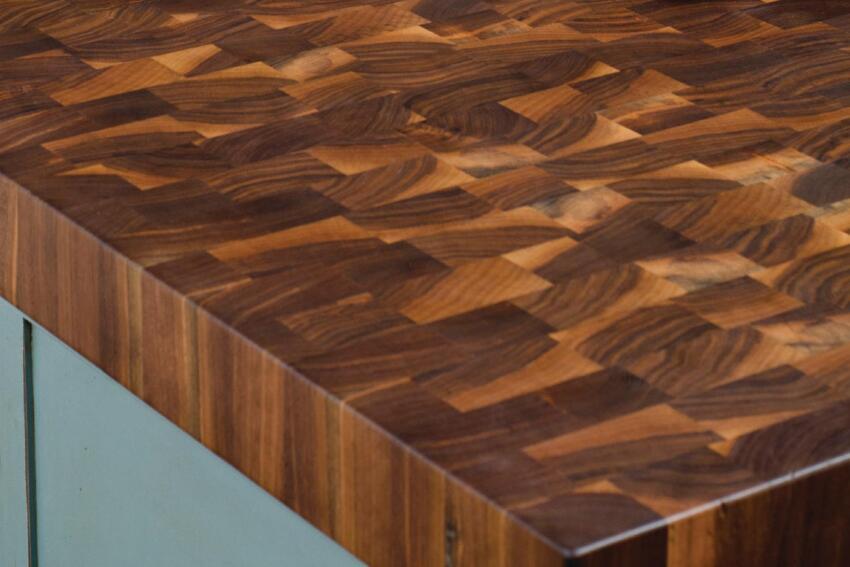 Hard-Top Trend: Wood Countertops