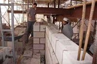 Building a Reinforced Concrete Block Wall