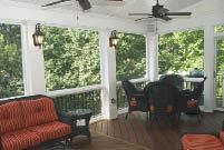Figure 10. Building up the trim and columns on a porch can tie it to interior finish details.
