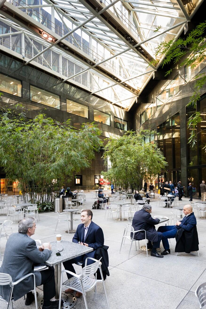 IBM Building atrium