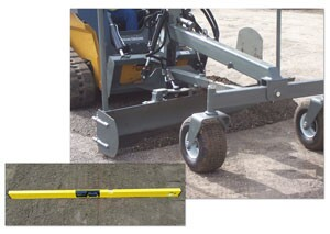 Skid Steer Grader Blade from Worksaver, Inc.