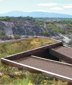 This is the first landscaped green roof to be built in Pima County, Ariz., but it probably will not be the last.