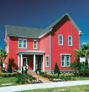 Big Red A Bright And Different Color Palette Helps Laureate Park Stand Out