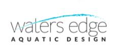 Water's Edge Aquatic Design Logo