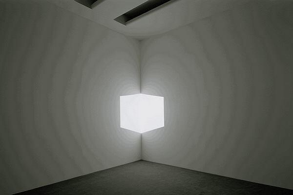 "James Turrell, ""Afrum I (White),"" 1967."