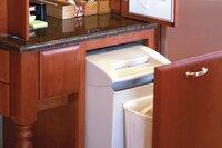 Mail Handler: Including a Paper Shredder in the Kitchen Desk Area