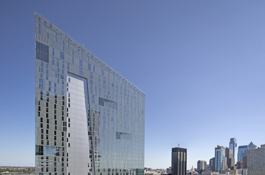 Evo and sky green at cira centre south architect for Top philadelphia architecture firms