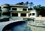 The concrete home, nearly completed, offers all of the safety and cost advantages of the material of choice—concrete.