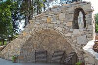 Mary's Grotto at Benedictine College