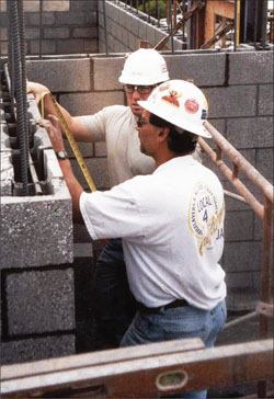 Using certified inspectors or accredited organizations for masonry inspections is increasing.