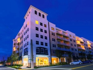 Eastwind Development Group built its 85-unit affordable seniors housing community, Evernia Place, on five vacant lots at the corner of Sapodilla Avenue and Evernia Street in downtown West Palm Beach, Fla.