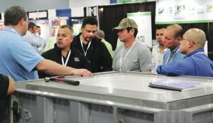 The Precast Show attendees can watch product demonstrations and network with fellow producers.