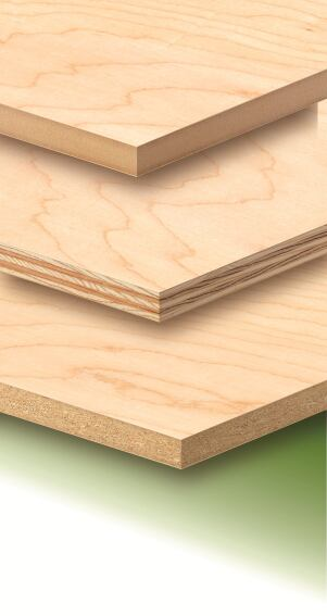Timber Products Co. Offers Urea Formaldehyde-Free Resins in its Hardwood Plywood Panels.
