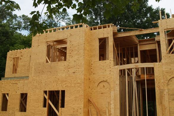 Construction Grade Particle Board ~ Product pros and cons oriented strand board vs plywood