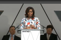 Whitney Museum of American Art Hosts Dedication Ceremony