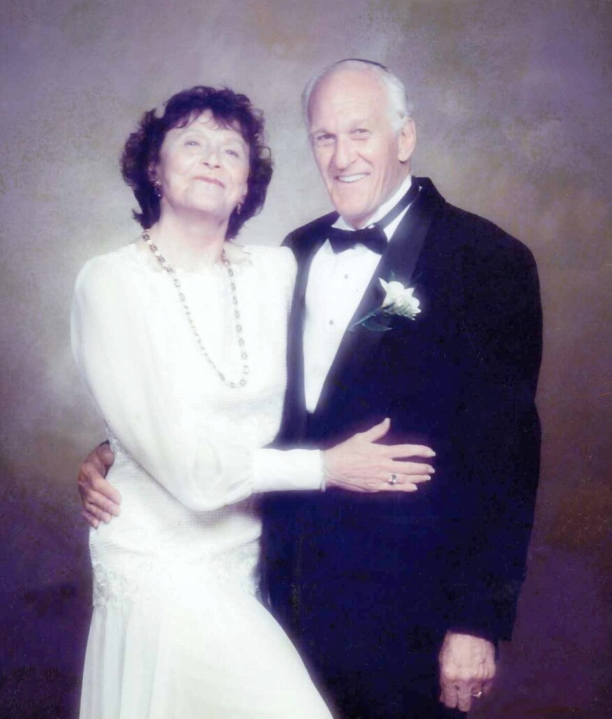 Lillian Rosenstock Rothberg with late husband Dr. Henry M. Rothberg.