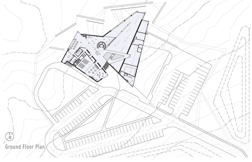 Teeple Architects Philip J. Currie Dinosaur Museum