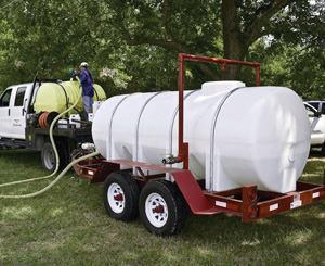 Herbicide tanks should be routinely checked and maintained to avoid potential problems at the application site.