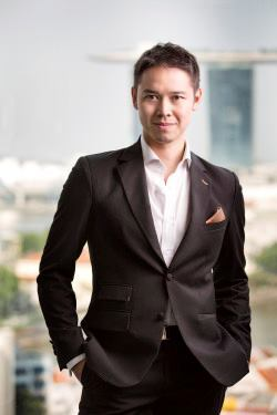 Singapore-based founding principal Jason Pomeroy.