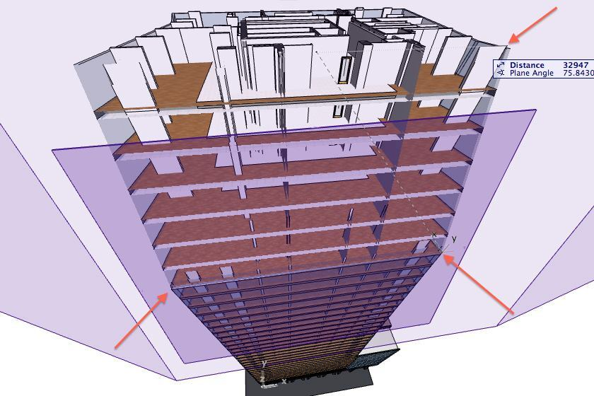 ArchiCAD 17 enables real-time, three-dimensional section cuts through building projects.