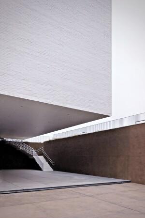 Aomori Museum of Art, in Aomori, Japan, designed by Jun Aoki & Associates, 2006