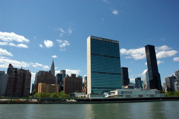 The east- and west facings of the United Nations' headquarters in New York, completed in 1953, are clad in insulated glazing.