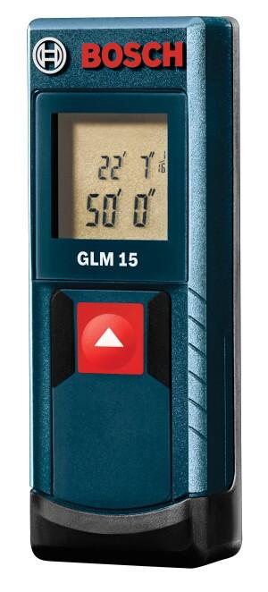 Bosch GLM 15 Laser Distance Measurer
