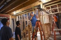High School Students Help Build Homes in D.C. Area