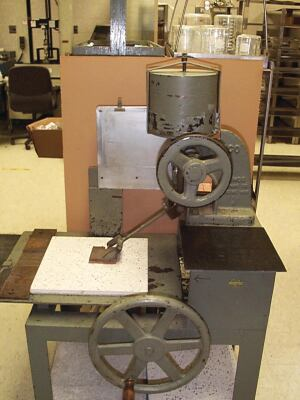 A James Machine, which is used for the ASTM D-2047 test method, is not portable. This makes field testing impossible.