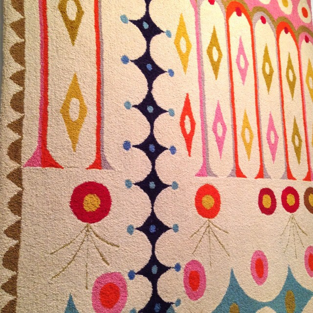 Cynthia Sargent's Scarlatti rug