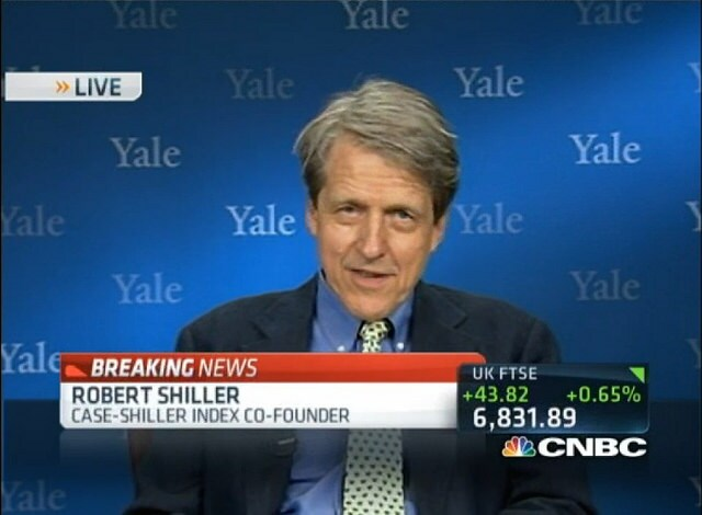 Who Put the Shiller in Case-Shiller? This Guy! Video