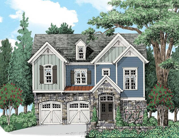 William Poole Narrow Lot House Plans