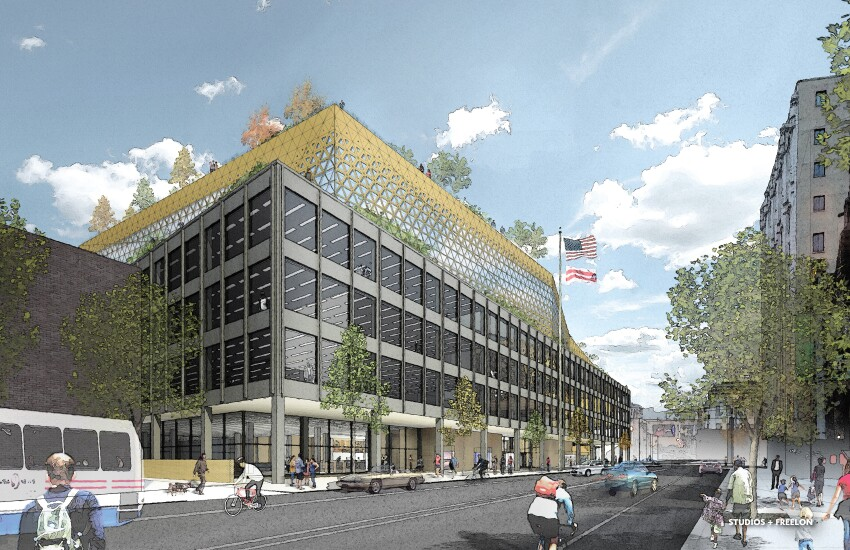 Freelon Group/STUDIOS Architecture Proposal for MLK Library