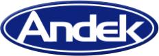 Andek Corp. Logo