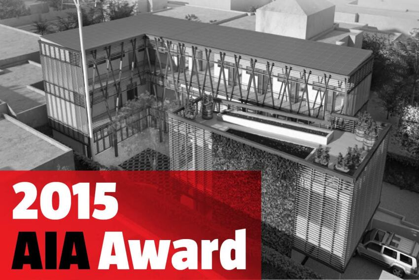The 2015 AIA Young Architects Awards