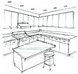 The Cabinet Showroom Kitchen