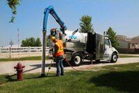 Vacuum excavator from Vactor Manufacturing