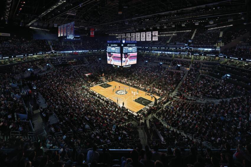 Arena interior.