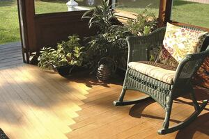 Flooring an L-Shaped Porch
