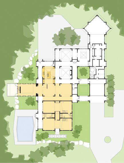 arkansas house, johnson, ark.