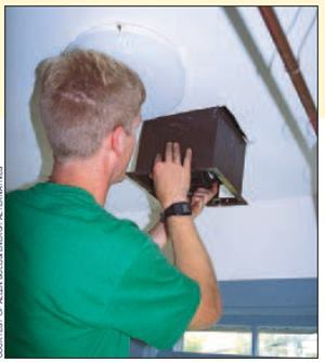 Bathroom exhaust fans are what we typically do. But a few point source exhaust fans is typically not enough to provide adequate whole-house ventilation. The goal of whole-house ventilation is to provide balanced ventilation that is well distributed and mixed with the air throughout the house.