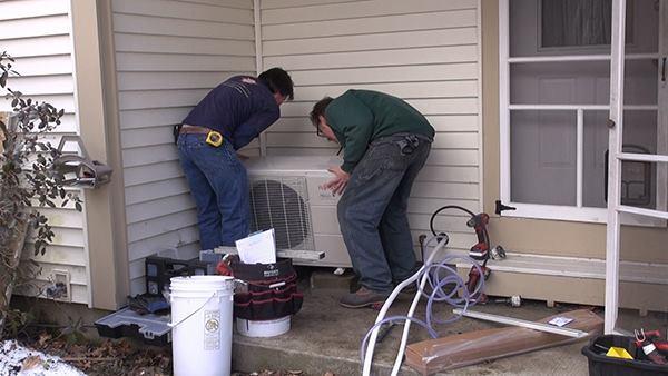 Installing A Mini Split Air Source Heat Pump Jlc Online