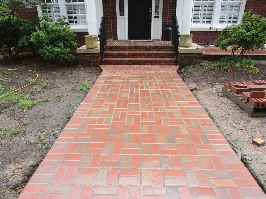 Building A Durable Brick Walkway Professional Deck